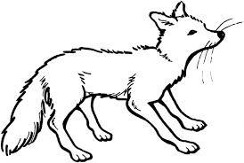 Free Coloring Pages Of Wolf Red Riding Hood Mask Red Fox Coloring