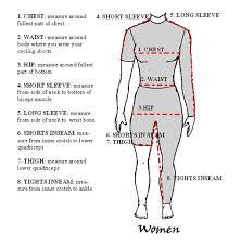 Womens Body Chart Womens Size Chart