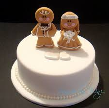 50 best wedding ( andrew and natalie) images on pinterest Wedding Cake Toppers Ginger Groom red and white wedding cakes ginger bread favours Funny Wedding Cake Toppers