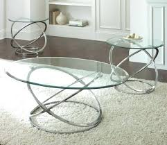 chrome glass end tables delicate chrome cocktail and end tables set with glass top small round