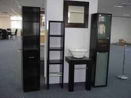 Living Room Bar Furniture Modern Elegant Black Bar Furniture Cabinet With Square Design Of