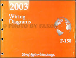 2003 ford f 150 wiring diagram manual original