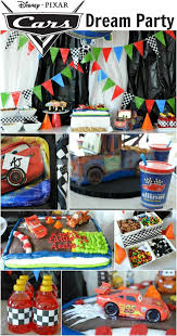 Cars Party Decorations 17 Best Images About Djs Birthday Party On Pinterest Car Table
