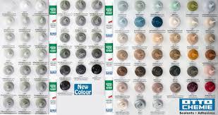 ottoseal s100 premium bathroom silicone to see colour card