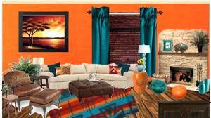 Burnt Orange And Brown Living Room Property Interesting Design Inspiration