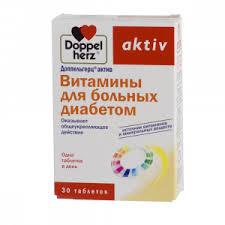 <b>Витамины</b> для диабетиков, 30 таблеток, Доппельгерц Актив ...