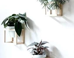 interior wall mounted planters indoor stylish plant holders hanging with 28 from wall mounted planters
