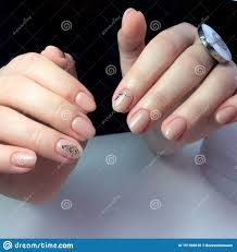 French Gel Nail Designs French Manicure On The Nails French Manicure Design