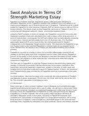 paparich swot analysis in terms of strength marketing essay swot  paparich swot analysis in terms of strength marketing essay swot analysis in terms of strength marketing essay paparich is a moderm kopitiam that