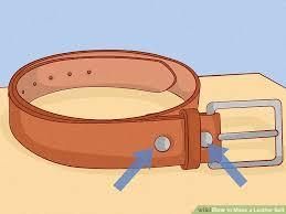 image titled make a leather belt step 21