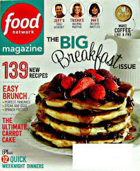 food network magazine 2015. Perfect Network The Big Breakfast Issue Food Network Magazine April 2015 Volume 8 Number 3 To Magazine N