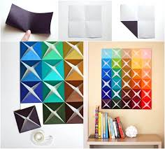 paper wall art geometric paper wall art tutorial  on paper wall art tutorial with paper wall art toilet paper wall art pinterest kidsintraffic