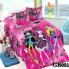 monster high sets monster high full comforter set throughout kids bedding sets for girls as queen monster high sets