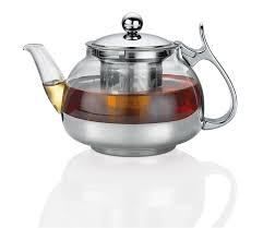 <b>Чайник заварочный</b> с ситечком, 700 мл, стекло