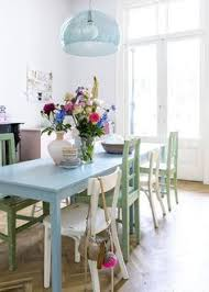 how to mix and match chairs retro dining roomscal