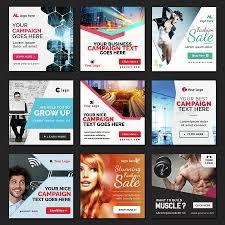 Instagram Banner Design Instagram Banners 70 Banners Graphicriver Social Media