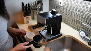 The water tank capacity is 4 cups. Using Mr Coffee Steam Espresso Cappuccino Maker Youtube