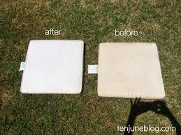 cleaning patio furniture cushions best way to clean outdoor chair cushions outdoor designs