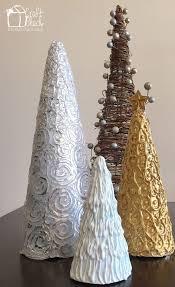 Best 25 Cone Trees Ideas On Pinterest  Cone Christmas Trees DIY Foam Christmas Tree Crafts