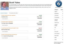 writer profiles this is the profile of one of the two founders of scott yates who writes that he s not just the ceo he s also a writer this profile is his