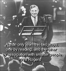 Will Rogers on Pinterest | Jon Stewart, Quotations and Well Said ... via Relatably.com