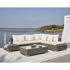 white resin wicker patio set benguerra