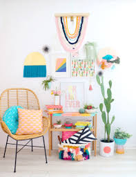 even though i used my glowforge to cut the wood to use for the yarn hanging and the pendant light to fit through you could totally replicate this
