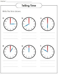 Elapsed Time Worksheets | Kiddo Shelter