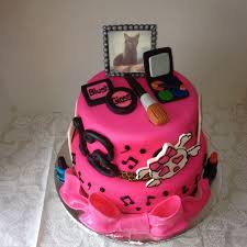 7 Bday Cakes For Teen Girls Photo Teenage Girl Birthday Cakes