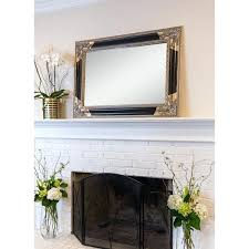 black and gold mirror black gold wood rectangle wall mirror black gold napoleon mirror
