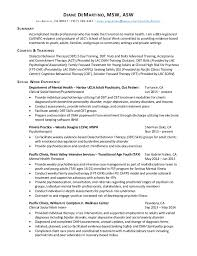 Sample Social Work Resumes Sarahepps Com
