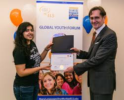 top competition from united nations honeywell and applits win  els one world essay contest and global youth