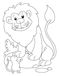 Small Picture Lion Mouse page Daniel for preschool Preschool Pinterest