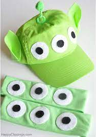 diy kids toy story alien costumes toy