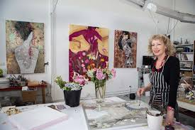 Wendy Arnold Artist - Up Close & Personal - JahRoc Galleries