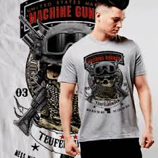 Usmc 0331 Details About Usmc 0331 Machine Gunner Marine Combat Arms Infantry Skull With Dog Tags T Shirt