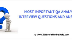 Plastic Part Design Interview Questions 25 Popular Test Qa Analyst Interview Questions And Answers