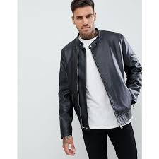 clothing design faux leather racing biker jacket 5yr311