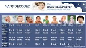 Baby Nap Chart How Many Naps And How Long Should They Be