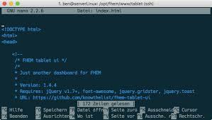 FHEM Tablet UI #2: wie index.html anpassen/bearbeiten - Maker-Tutorials