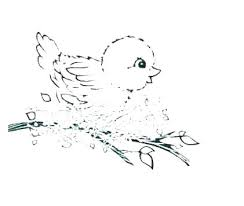 Bird Nest Coloring Page Free Printable Pages Baby Ilovezclub
