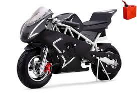pocket bike mini motorcycle 4 stroke gas power go bowen blue