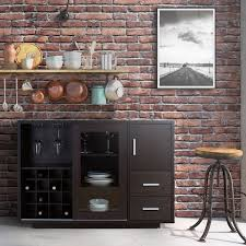 wine room furniture. Furniture Of America Julienne Modern Sliding Door Wine Bar Dining Server Room