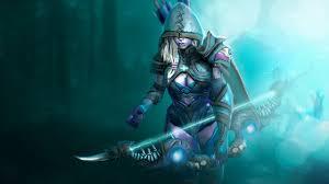 drow ranger death shadow set dota 2 youtube