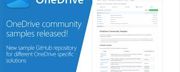 Introducing Onedrive Community Samples Github Repository