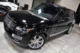 2015 Land Rover Range Rover Autobiography Black Edition Автомобили Черный
