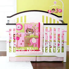 safari nursery bedding sets hot new new embroidered boy baby cot crib bedding sets includes