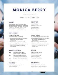 Canva Resume Interesting Customize 60 Resume Templates Online Canva