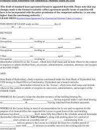 Standard Commercial Lease Agreement 10 Commercial Rental Agreement Free Download