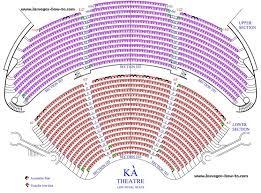 Mgm Grand Vegas Seating Chart Ka Theatre At Mgm Grand Hotel And Casino Las Vegas